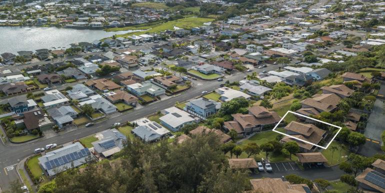 1201 Akipohe St 7B Kailua HI-027-008-Aerial-MLS_Size