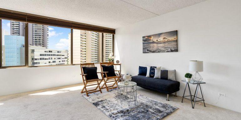 411 Hobron Ln 1205 Honolulu HI 96815 USA-005-003-Living Room-MLS_Size