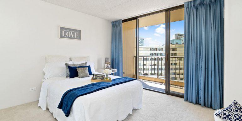 411 Hobron Ln 1205 Honolulu HI 96815 USA-012-009-Master Bedroom-MLS_Size