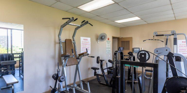 411 Hobron Ln 1205 Honolulu HI 96815 USA-018-017-Gym-MLS_Size